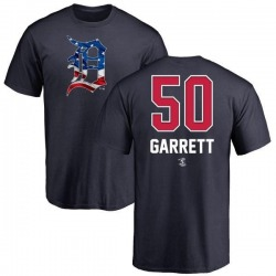 Youth Reed Garrett Detroit Tigers Name and Number Banner Wave T-Shirt - Navy