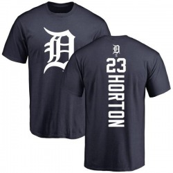 Youth Willie Horton Detroit Tigers Backer T-Shirt - Navy